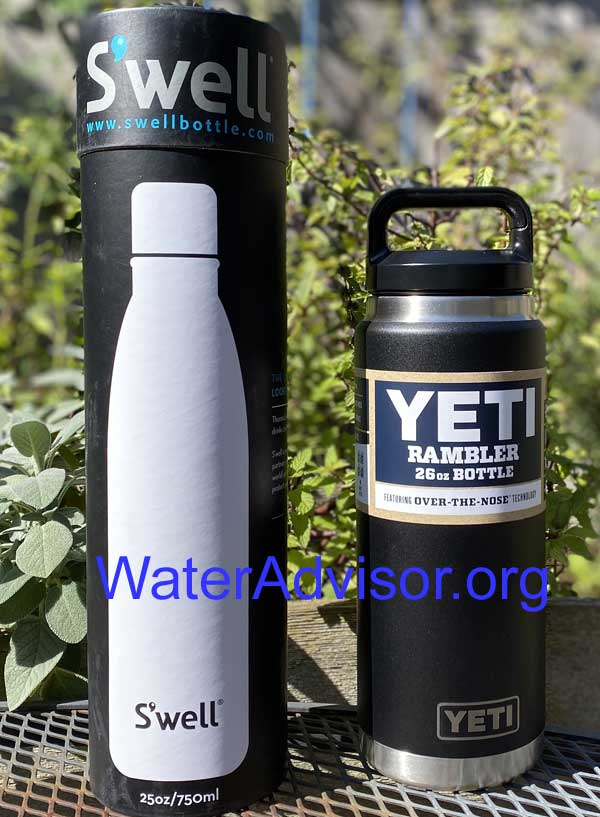 swell vs yeti water bottle